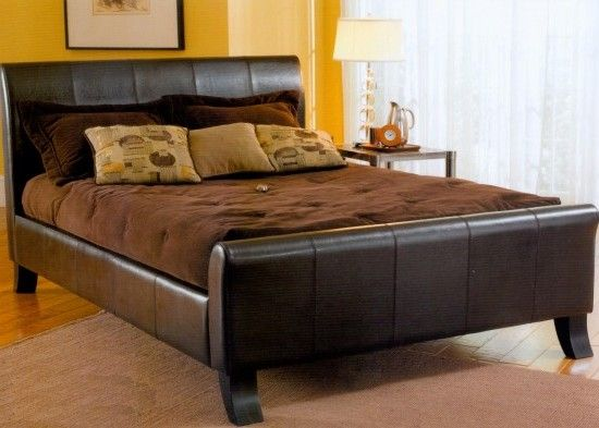 Decorating King Size Bed Frame With Storage And Brown Bed Linen