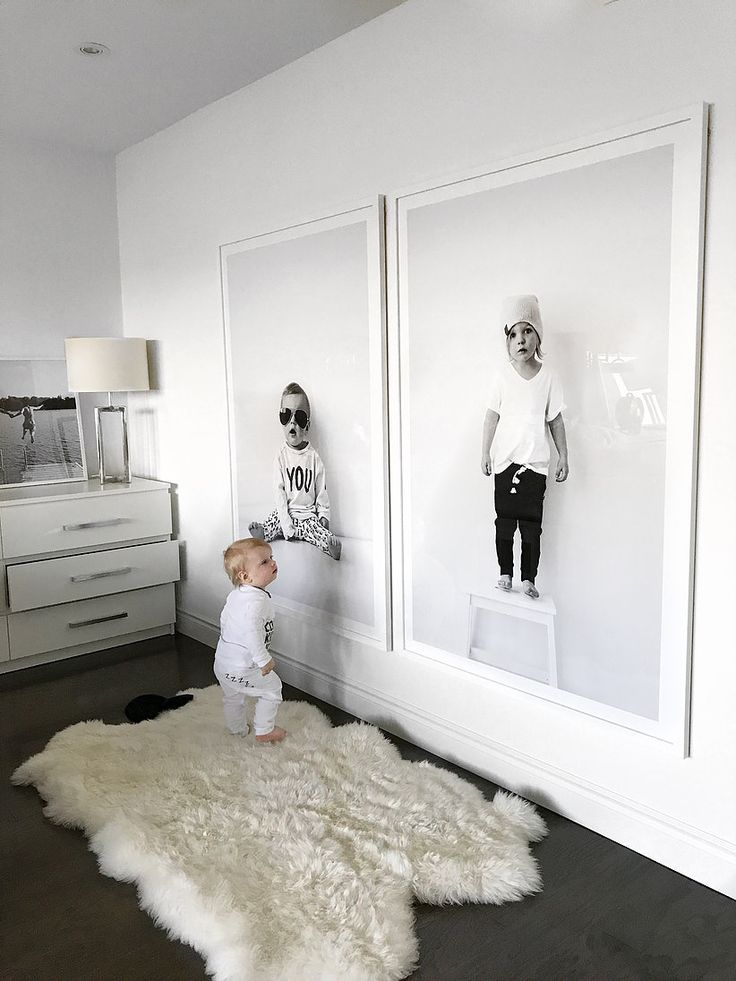 Blow Up Your Kids Portraits for BIG Impact Art | ericashawandcompany  #ericashaw…