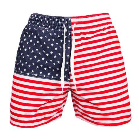 Chubbies Shorts | Patriotic Swim Trunks