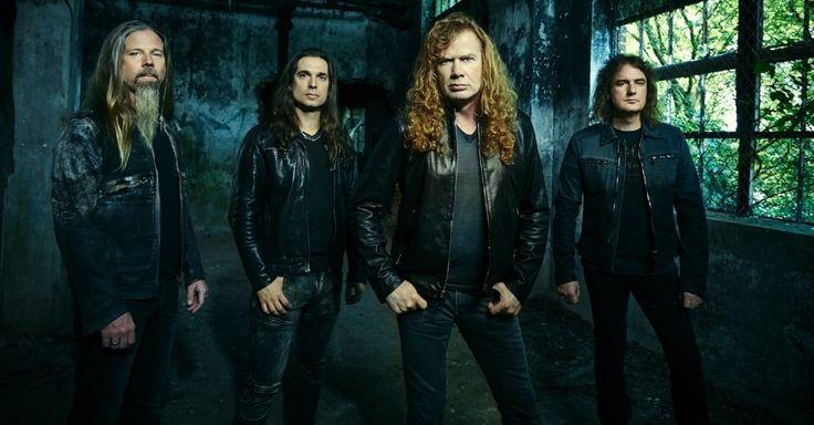 Ingressos para shows do Megadeth no Brasil já estão à venda