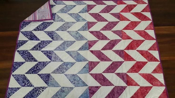 Toddler quilt for Emma