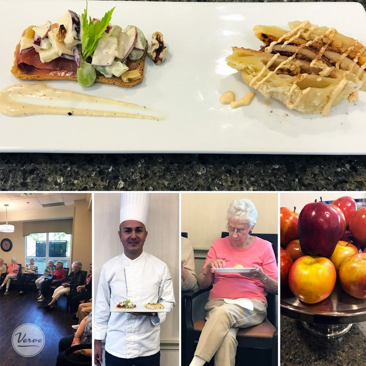 Chef Juan Antonio at Richmond Hill Retirement has done an outstanding job with apples this month!   #livinglovinglocal #richmondhillretirement #verveseniorliving #inspiredseniorliving