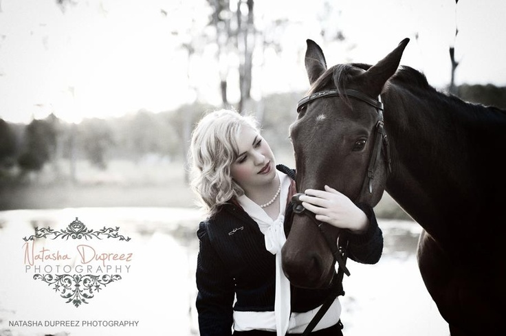 A beautiful photo session with a girl and her horse.    Styling & Photography:  www.natashadupreez.com  Make-up & Hair:  Evalrie Lin Makeup Artistry