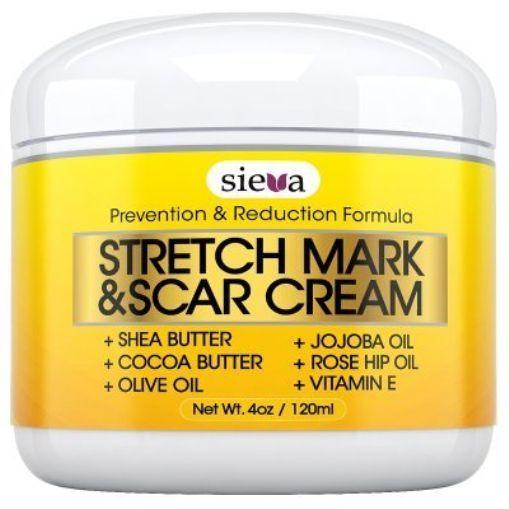 Stretch Marks & Scars Cream - Best for Stretch Mark Removal - Body Moisturizer & #SievaSkincare