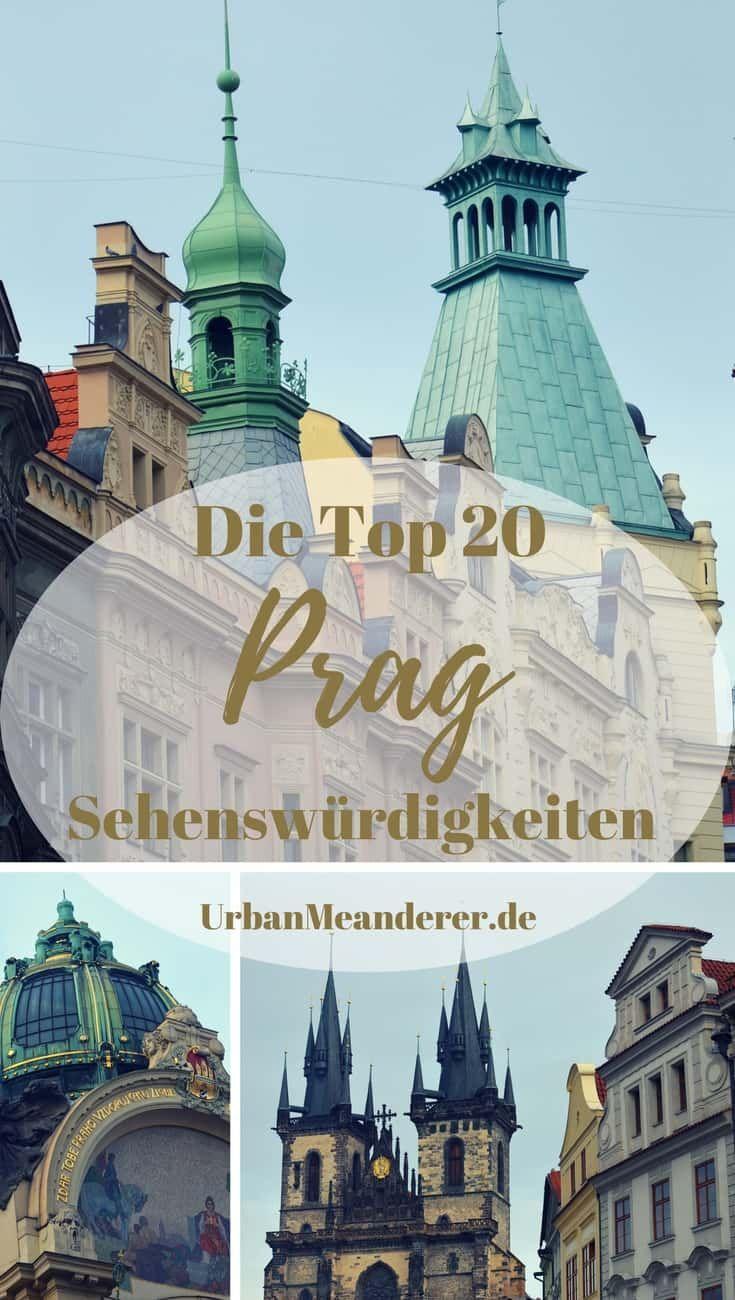 Die Top 20 Prag Sehenswürdigkeiten für einen Kurztrip