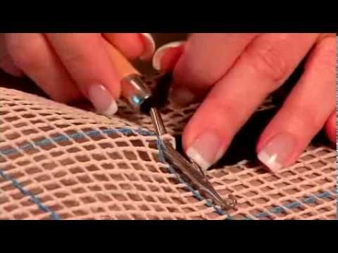 This is the perfect video for people who are new to latch hooking and want to learn how!