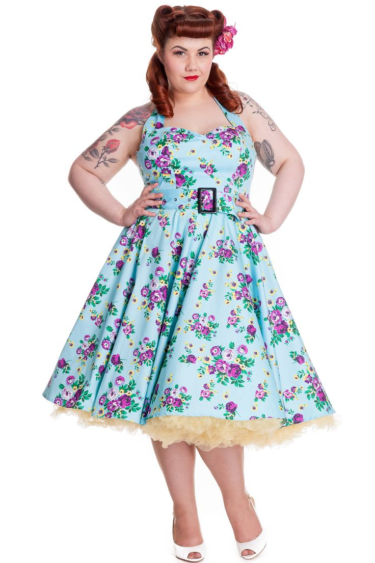 Plus size retro dress uk