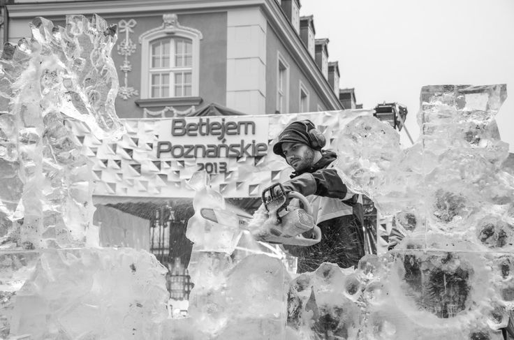 Ice Sculpting Competition Poznań 2013