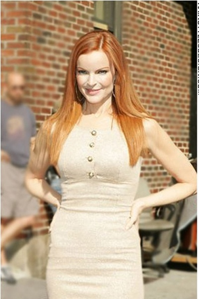 Marcia Cross Hairstyles red blonde for summer