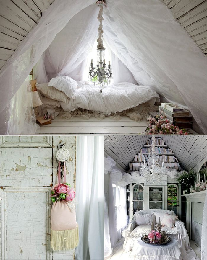 be still my beating heart...: Ideas, Shabby Chic Decor, Dreams Houses, Shabby Chic Style, Attic Bedrooms, Interiors Design, Weights Loss, Shabby Chic Interiors, Shabby Chic Bedrooms