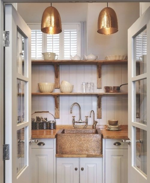 Butlers Pantry - lights + sink