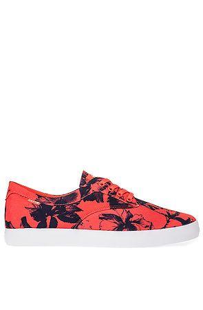 HUF Sneaker Sutter in Salmon Floral - Karmaloop.com