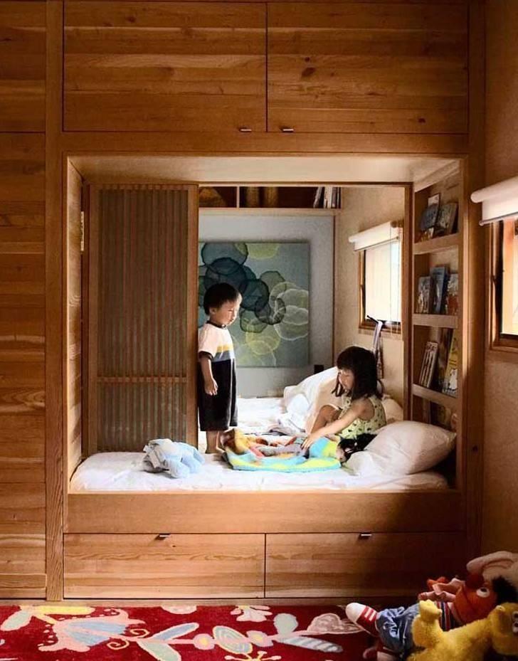 Kids Bedroom Nook best 25+ midcentury kids beds ideas on pinterest | midcentury kids
