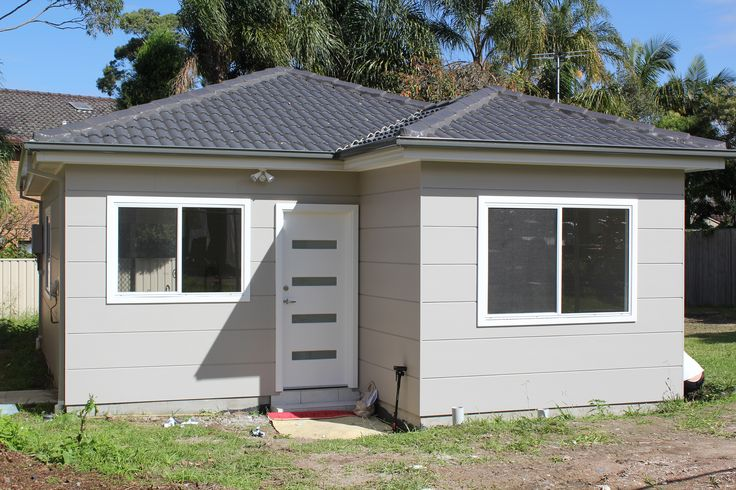 Granny flat build option #2: Pre-designed and built onsite