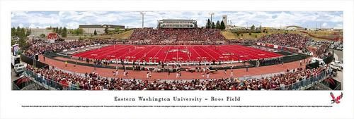 Eastern Washington University Panoramic Photo Print