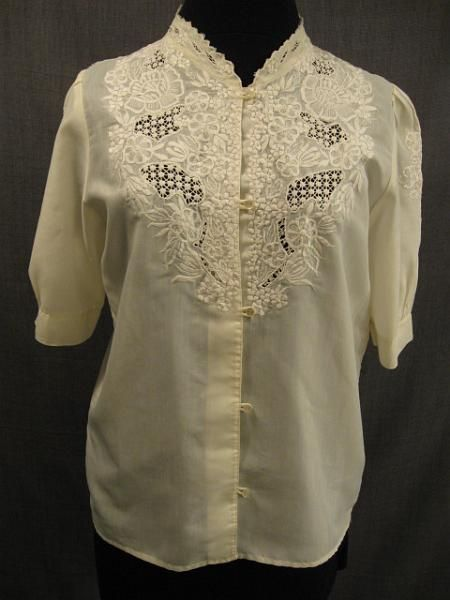 Womens Ivory Blouse 33