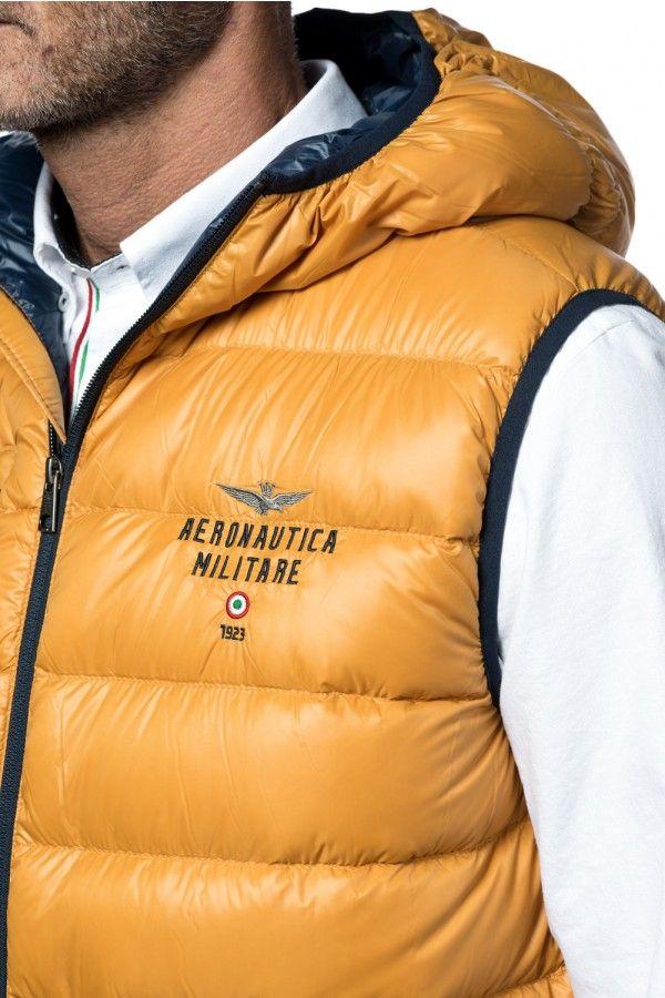 AERONAUTICA MILITARE GILET TRAPUNTATO - MEN
