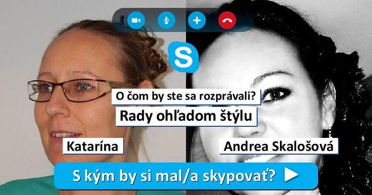 S kým by si mal/a skypovať?