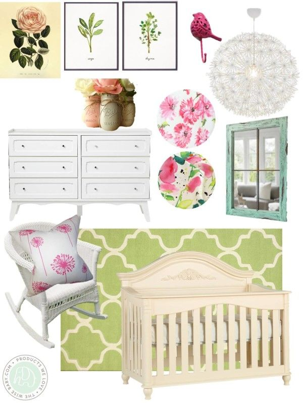 secret garden nursery inspiration