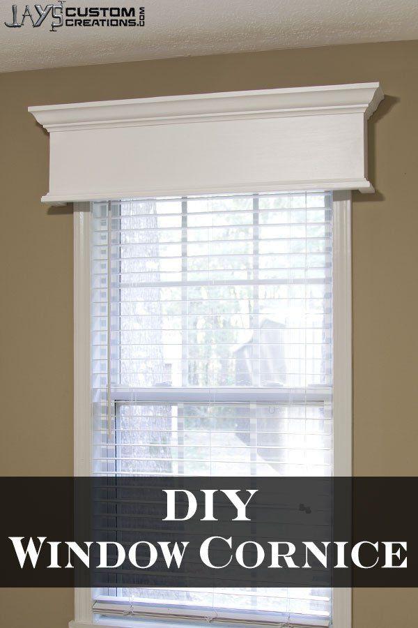 Best 25+ Window cornices ideas on Pinterest | Window ...
