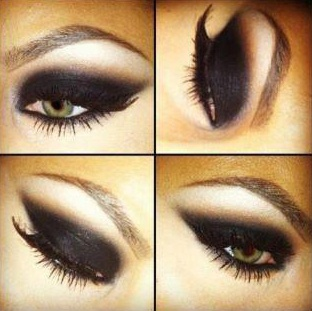 Smokey eyes ♥   #makeup #beauty #eyes #smokeeyes