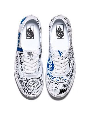 Vans by Art Sool, le sneakers come opere d'arte per AW LAB