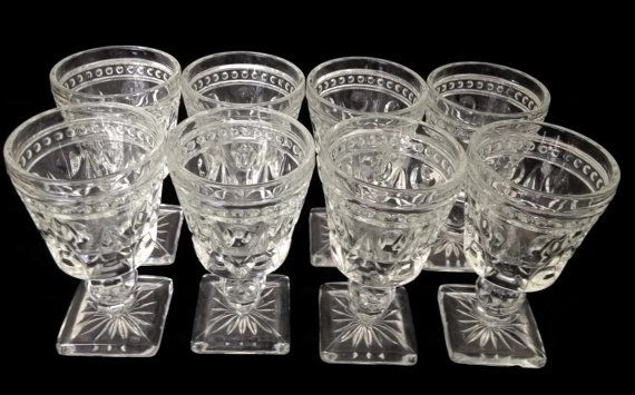 Indiana Glass Company Park Lane Cordial by TreasuresFoundShoppe