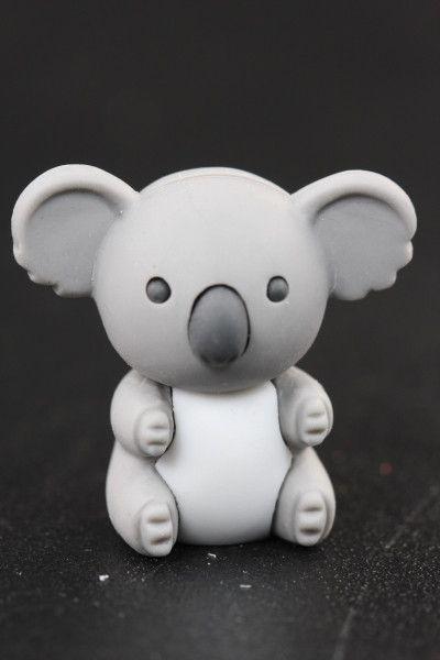 Dark Gray Koala Eraser Series One