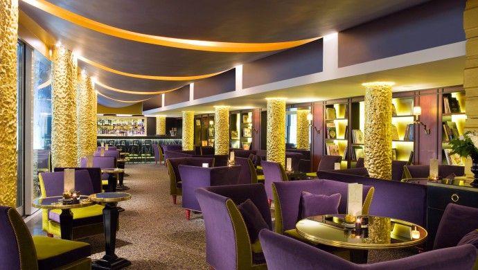 Bar Le Lucien in the Hotel Fouquet's Barriere, Paris
