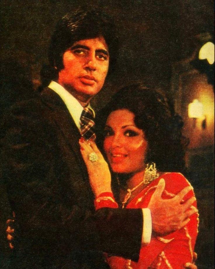 """422 Likes, 7 Comments - muvyz.com (@muvyz) on Instagram: """"#muvyz061017 #BollywoodFlashback #couplegoals #AmitabhBachchan #parveenbabi #photo #kaustubh…"""""""