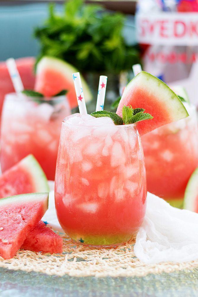Vodka Watermelon Cooler | Jennifer Meyerling