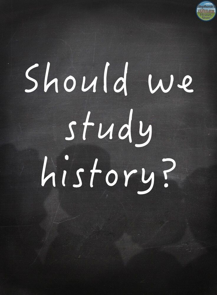 """In just about a month,students around the world (or at least the northern hemisphere) will be asking their social studies teachers, """"why do we have to study history?"""" Of course there a…"""