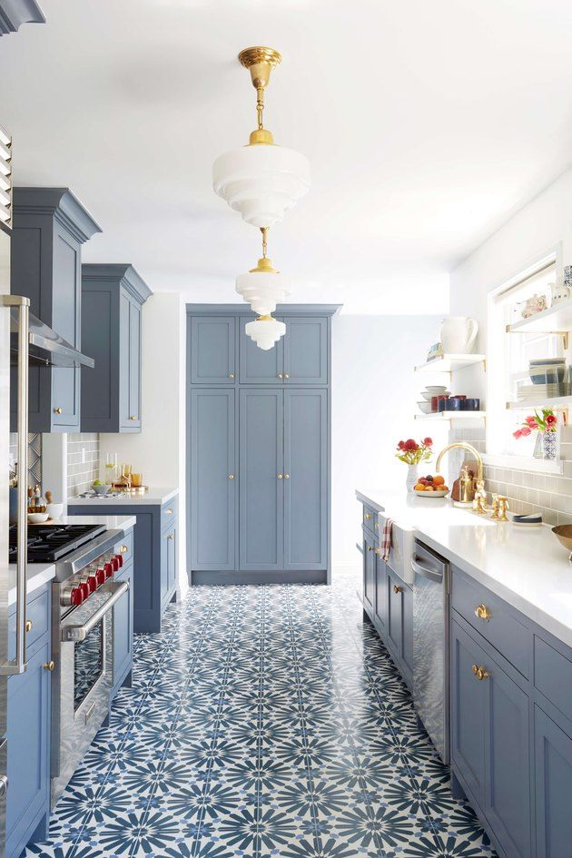 6 Moroccan Kitchen Floor Tiles That Ll Convince You To Go Big In