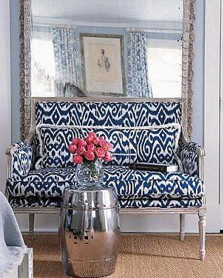 Printed sofas