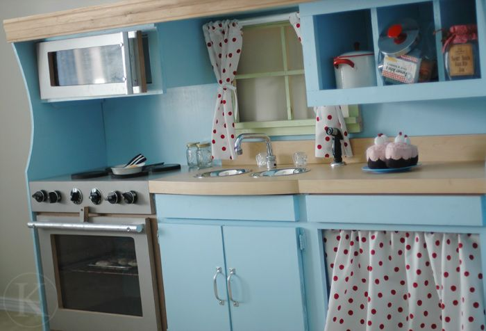 Diy Play Kitchen an almost 100 percent completely recycled play kitchen | diy play