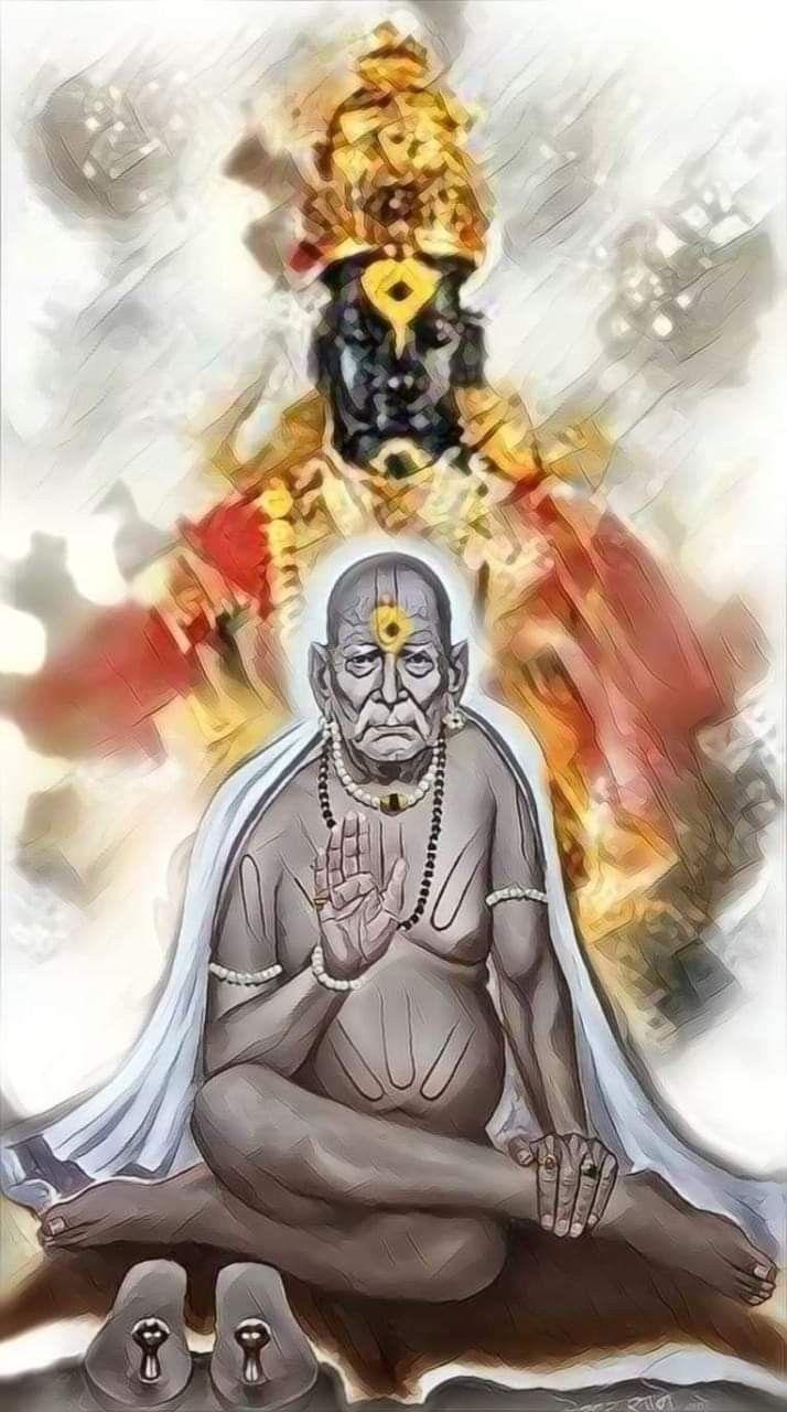 श्री स्वामी समर्थ | Swami samarth, Saints of india, Sai ...