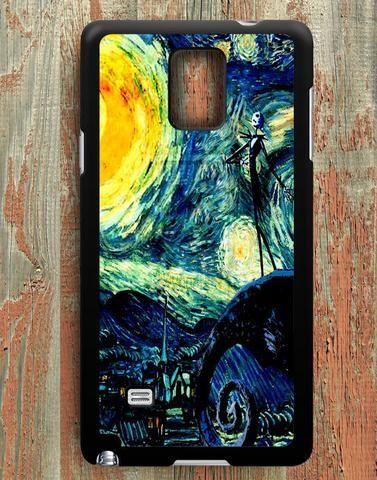 Starry Night Moon Nightmare Samsung Galaxy Note 4 Case