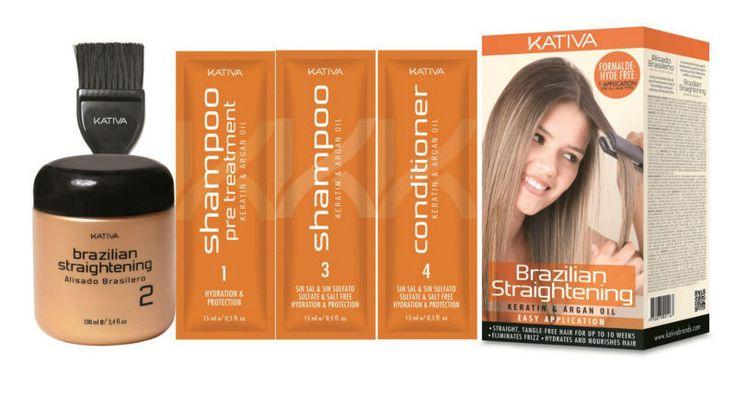 Kativa Brazilian Straightening Keratin&Argan Oil Easy Application