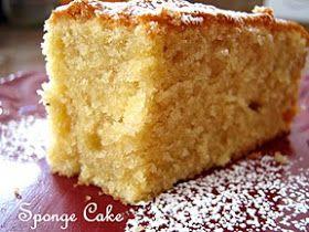 The Inner Gourmet: Christmas Sponge Cake