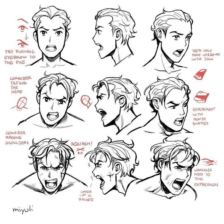 Angry Face Reference Photo Google Search Skizzen Kunst Gesichter Zeichnen Lernen Zeichnung