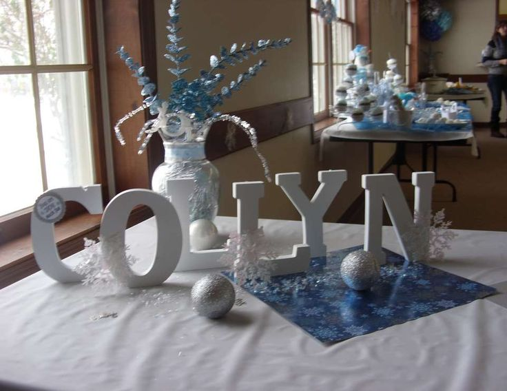 Collyn's Baby Shower - Winter/ Snow