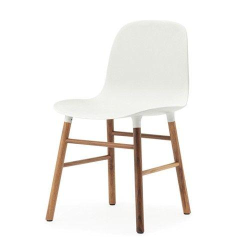 Normann Copenhagen ZA Walnoot Stoel | Loods 5 | Design | Jouw stijl in huis meubels & woonaccessoires