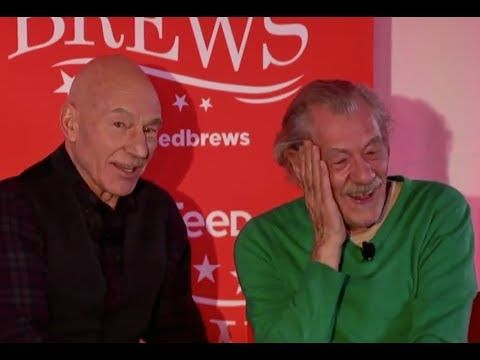 Patrick Stewart And Ian McKellen's Impressions Of Each Other Are Hilariously Accurate
