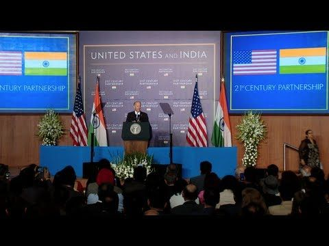 """Remarks By Vice President Joe Biden on U.S. - India Partnership ... Jul 24, 2013   Bombay Stock Exchange in Mumbai, India. --- In that spirit, Vice President Biden asked that India """"consider the historic opportunity that is in front of us. Imagine what our two countries can achieve together in this 21st century, not only for one another, but for economic stability of the region, as well as the world."""""""