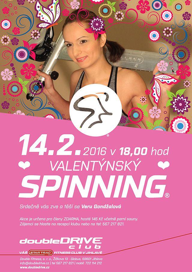 Valentýn Spinning 2016
