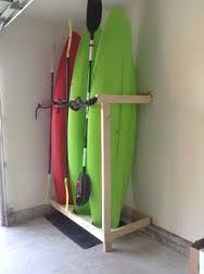 kayak garage storage