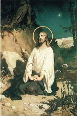 Agony In The Garden Wilhelm Kotarbinski Jesus