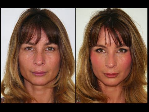 Natural Glowy Makeup for Mature Skin