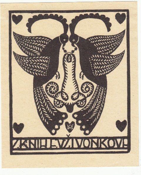 Z Knih Evzivonkova, 1915.