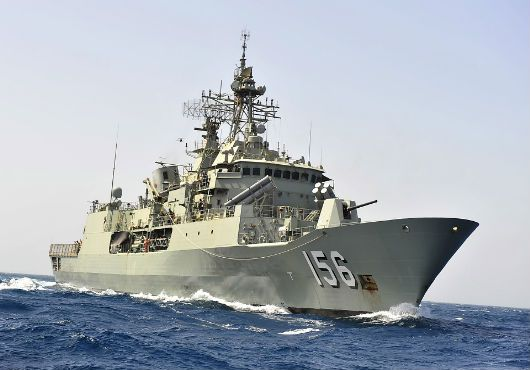 Royal Australian Navy ship HMAS Toowoomba departed Fleet Base West near Perth on 29 March, to join the international search for Malaysia Airlines Flight 370.Anzac-class frigate has been diverted from other operational tasks to join the search. It will carry a S-70B2 Seahawk helicopter which was flown from the RAN's Naval Air Station HMAS Albatross by a Royal Australian Air Force (RAAF) C-17A Globemaster on Friday night.